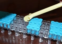 How to adjust your Rainbow Loom to make patterns in the square loom position #MichaelsRainbowLoom