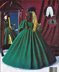 Vol 33.....Crochet Collector Costume Volume 33 / 1866 par grammysyarngarden