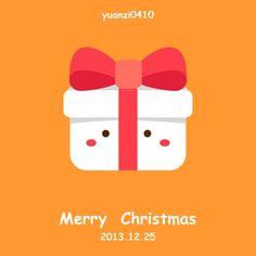 merry christmas~ by yuan yuan, via Behance