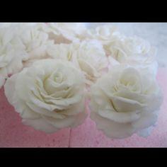 edible gumpaste roses