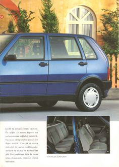 1996 Fiat Uno Turkish Catalog Page - 1996 Fiat Uno Türkçe Katalog Sayfa Fiat Uno, Poster Ads, Brochures, Catalog, Classic Cars, The Past, Sport, Vehicles, Tank Tops