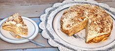 Krijg het vakantiegvoel en maak deze Portugese dessert-taart met koekjes en laagjes zoete creme nu zelf