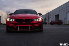 Photoshoot: This Matte Red BMW M4 Is A Thing Of Beauty - http://www.bmwblog.com/2016/12/07/photoshoot-this-matte-red-bmw-m4-is-a-thing-of-beauty/