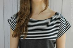 Rum, Kimono Tee, Sewing Clothes, Origami, Tees, Shirts, Outfit Ideas, Patterns, Outfits