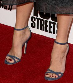 Gemma Arterton in Jimmy Choo sandals