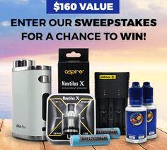 Win $160 Vape Pack