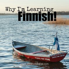 Why I'm learning Finnish!
