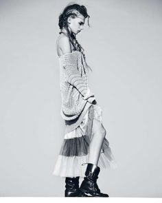 Urban Tribal Fashion - Gwen Loos Stars in Editorial for Glamour Italy February 2012 (GALLERY)