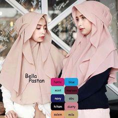 Hijab Niqab, Mode Hijab, Batik Fashion, Abaya Fashion, Muslim Dress, Hijab Dress, Muslim Women Fashion, Womens Fashion, Hijab Tutorial