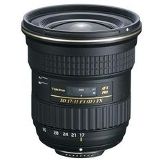 Designed for Full-Frame cameras, the Tokina AT-X 17-35mm F/4 give photographers a new wide-angle option.