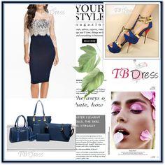 TBDRESS 27 by djulovic-mirela on Polyvore featuring moda, Pussycat and tbdress