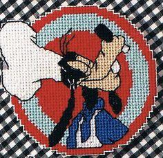 free plastic canvas coaster patterns | Goofy Baker Coaster/Magnet Plastic Canvas Pattern - Ad#: 968998 ...