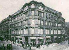 Geschaeftshaus C&A,Koenigstrasse Ecke Neue Friedrichtrasse in den 20ern