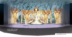 cinderella ballroom | Cinderella Set Design