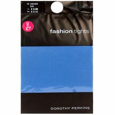 Dorothy Perkins Blue tights Blue tights. 92% Nylon,8% Elastane. Machine washable. http://www.comparestoreprices.co.uk/womens-clothes/dorothy-perkins-blue-tights.asp