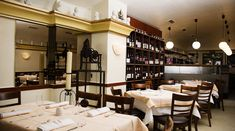 Restaurant Ottenthal Berlin, Conference Room, Bar, Interior, Modern, Table, Furniture, Restaurants, Home Decor