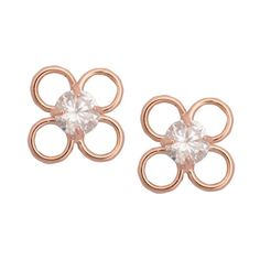 Rose Gold Plated Brass Earrings indianearrings, #indiancouture, #Hoopearrings #pokemongoupdates