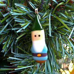 Mini Glass Gnome Ornament/Pendant