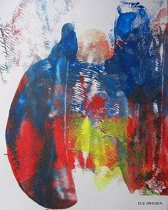 """Els Driesen, """"Pauw"""" (101) Mit einem Klick auf 'Als Kunstkarte versenden' versenden Sie kostenlos dieses Werk Ihren Freunden und Bekannten."""
