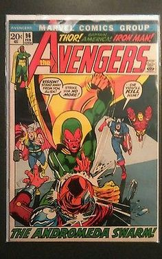 The AVENGERS  #96 1972               Neal Adams cover/art Bronze
