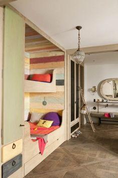 Built-in bunk beds by sososimps