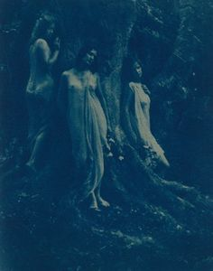 Nancy Ford Cones~Women in a forest,c.1925