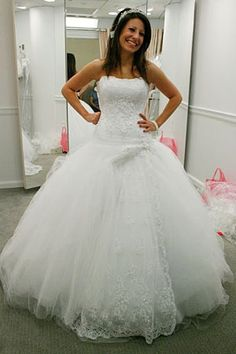 Image result for wedding dresses from the show say yes to the dress