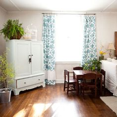 How to lengthen a curtain panel