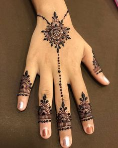 50 Most beautiful Udaipur Mehndi Design (Udaipur Henna Design) that you can apply on your Beautiful Hands and Body in daily life. Henna Designs Wrist, Simple Mehndi Designs Fingers, Wrist Henna, Modern Henna Designs, Mehndi Designs For Kids, Beginner Henna Designs, Mehndi Designs Feet, Latest Bridal Mehndi Designs, Henna Art Designs