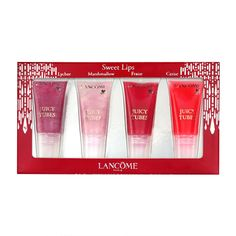 c0d191337808e Buy Lancôme Mini Juicy Tubes Gift Set from our Make-Up Sets range at John  Lewis   Partners.