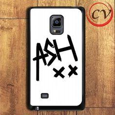 5sos Ashton Irwin Signature Samsung Galaxy Note Edge Case
