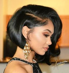 this black bob is regal,elegant and angelic all in one