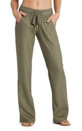 G by GUESS Women's Eleanor Linen Pants Make lounging luxe with these comfy-yet-stylish pants. Perfect for breezy afternoons. Typical White Girl, Cargo Pants Outfit, Plazzo Pants, Square Pants, Lounge Outfit, Cool Outfits, Fashion Outfits, Comfy Pants, Pants For Women