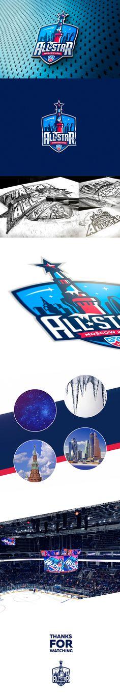 KHL All-Star Game 2016 logo design on Behance