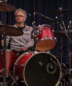 Dave Bergmuller sound check