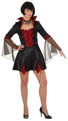 Kleid Sexy Vampirlady 001