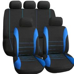 9 Pieces Set Car Seat Covers For Crossovers SUV Sedans