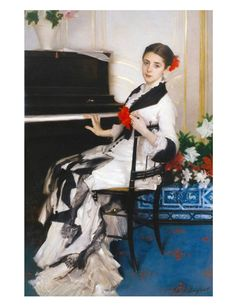 John Singer Sargent's Madame Ramón Subercaseaux (circa 1880) is in the Museum of Fine Arts in Houston.