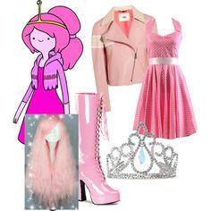 Bubblegum Princess by diamondj04 on Polyvore featuring polyvore fashion style Fendi Pleaser Princess Paradise