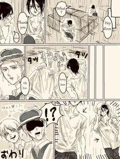 Attack On Titan Comic, Attack On Titan Ships, Attack On Titan Fanart, Eren And Mikasa, Armin, Eremika, Best Boyfriend, Fanarts Anime, Titans Anime