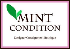 Mint Condition Designer Consignment Boutique in Alexandria, Virginia ~ best thing about this place: everything goes half price after it's been in the store for awhile, and they give you the date and the price it will be right on the tag. So if you want to gamble and wait...