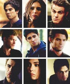 "Seven Characters, One Look: Because so many things in Mystic Falls make you go ""hmmm..."" http://sulia.com/channel/vampire-diaries/f/4f0c2b79-04b3-44a3-a4ff-d8237c573bfd/?source=pin&action=share&btn=small&form_factor=desktop&pinner=54575851"
