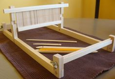 diy rigid heddle loom: