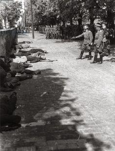 Foto na História: EXECUÇÃO NAZISTA NA SÉRVIA