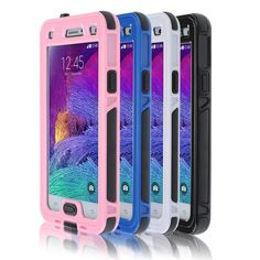 New Waterproof Shockproof Snow Proof Durable Case for Samsung Galaxy Note 4