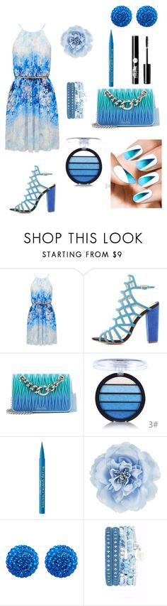 """""""Summertime soon"""" by ashleyhuang68 ❤ liked on Polyvore featuring Forever New, Charlotte Russe, Miu Miu, Too Faced Cosmetics, Monsoon and Henri Bendel"""