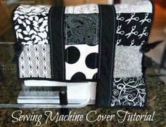 new sewing machine cover - diy tutorial
