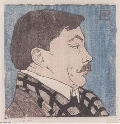Kolo Moser by Koloman Moser, 1903.Koloman Moser (German pronunciation: [ˈkoːloman ˈmoːzɐ]) (March 30, 1868 – October 18, 1918) was an Austrian artist who exerted considerable influence on twentieth-century graphic art and one of the foremost artists of the Vienna Secession movement and a co-founder of Wiener Werkstätte.