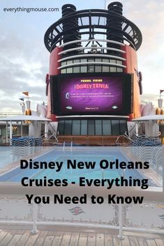 Disney Cruise Tips. Everything you need to know about a Disney Cruise from New Orleans. Make sure that you find the best Disney New Orleans cruise for your family at the very best price. Family Vacation Destinations, Cruise Vacation, Disney Vacations, Disney Travel, Family Vacations, Family Travel, Disney Wonder Cruise, Disney Cruise Tips, Best Cruise