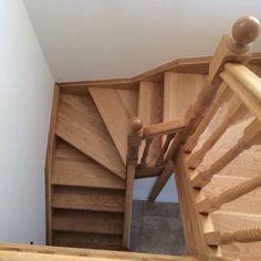 Oak Double Winder Stairs with Oak Barley Twist [SSODWB] - £0.00 : Shaw Stairs Ltd